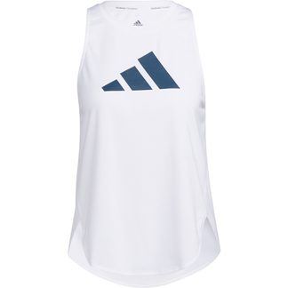 adidas - Badge of Sport Tank Top Women white crew red crew navy