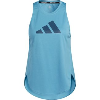 adidas - Badge of Sport Tank Top Women hazy blue crew navy