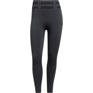 adidas - Training Aeroknit 7/8 High-Rise Tights Women dgh solid grey