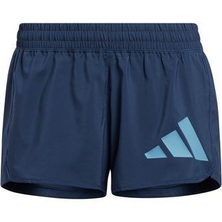 adidas - Pacer Badge of Sport Woven Shorts Women crew navy hazy blue