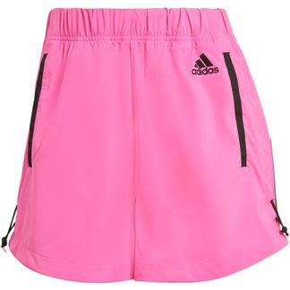 adidas - Sportswear Adjustable Primeblue Shorts Women screaming pink