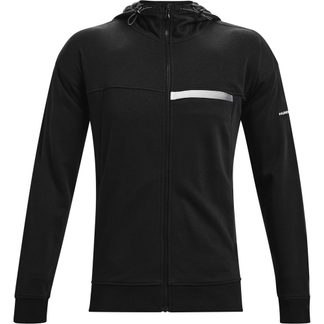 Under Armour - Rival Terry Taped Hooded Jacket Men black