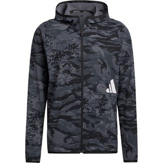 adidas - FreeLift Camouflage Training Hoodie Men black