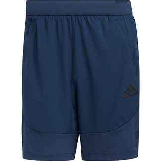 adidas - Aeroready 3-Stripes Slim Shorts Men crew navy
