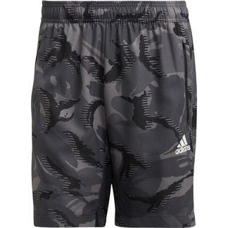 adidas - Designed To Move Camouflage Aeroready Shorts Men grey four