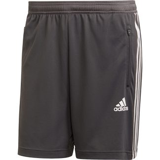 adidas - Primeblue Designed To Move Sport 3-Stripes Shorts Men grey six white
